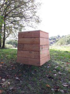 composteur en bois environ 400 litres