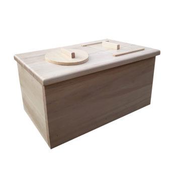 meuble toilettes sèches d'intérieur enfant