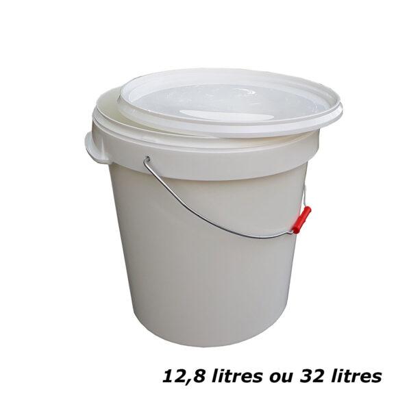 seau toilette sèche 32 litres ou 12.8 litres