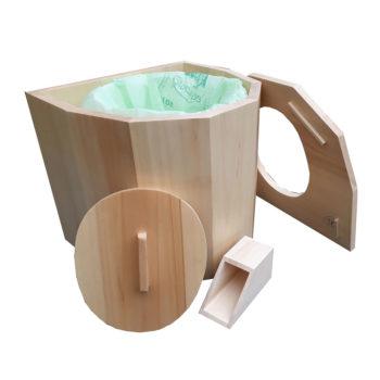 toilette sèche à compost pour la maison ou le camping,