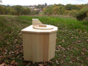toilette sèche mobile pour l'intérieur