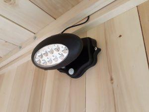 lampe à led des toilettes sèches handicapé