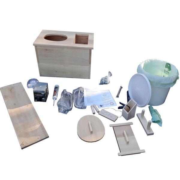 toilettes sèches accessibles à compost