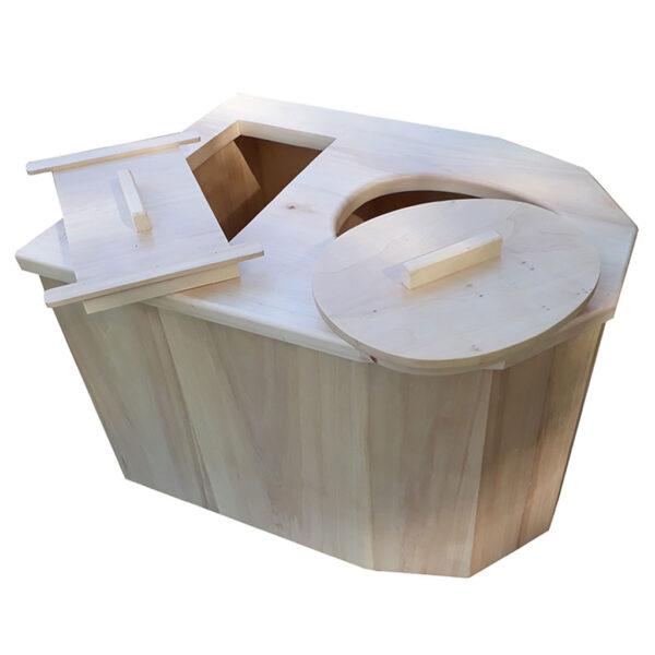 toilette sèche penta i cag fabriquée avec amour dans notre atelier