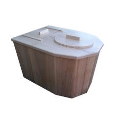 toilette sèche design à compost