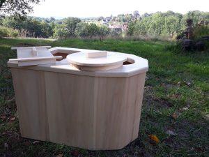 toilette sèche à litière