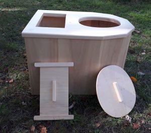 toilette sèche à compost