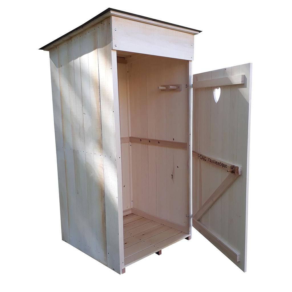 toilette sèche à compost d'extérieur