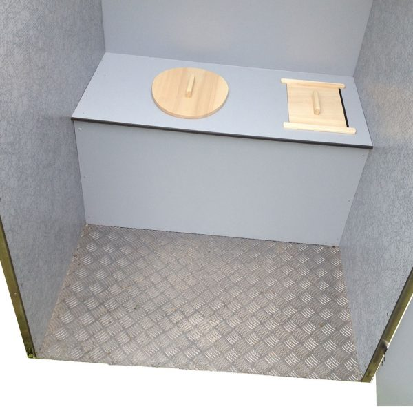 toilettes sèches inox