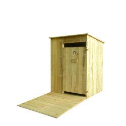 rampe accès toilettes sèches PMR
