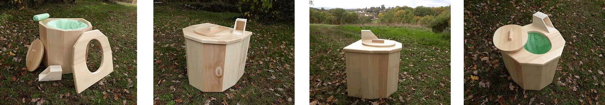 Toilettes sèches mobiles écologiques