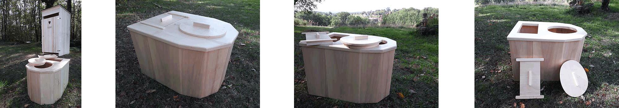 Les toilettes sèches d'interieur modernes