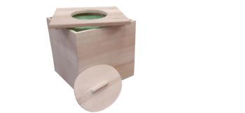 Toilette sèche intérieur économique, I CUBE