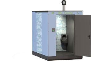 WC écologiques publics i Cube® modèle plage
