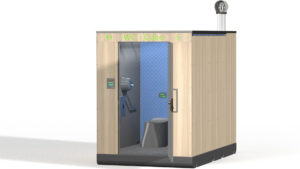 Toilettes autonomes i Cube modèle frène®