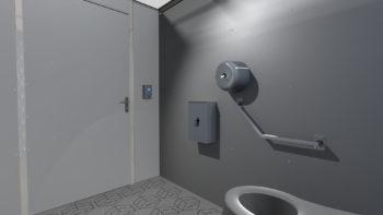Vue intérieure de la cabine i Cube®