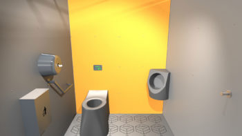 Intérieur cabine i Cube® orange